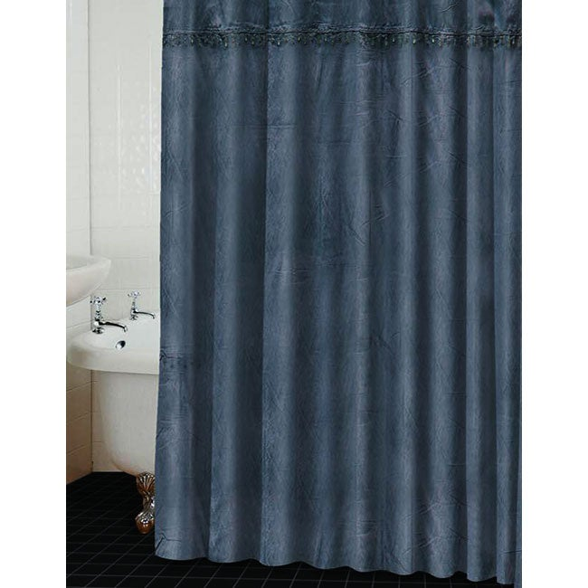 Mata Hari Steel Shower Curtain