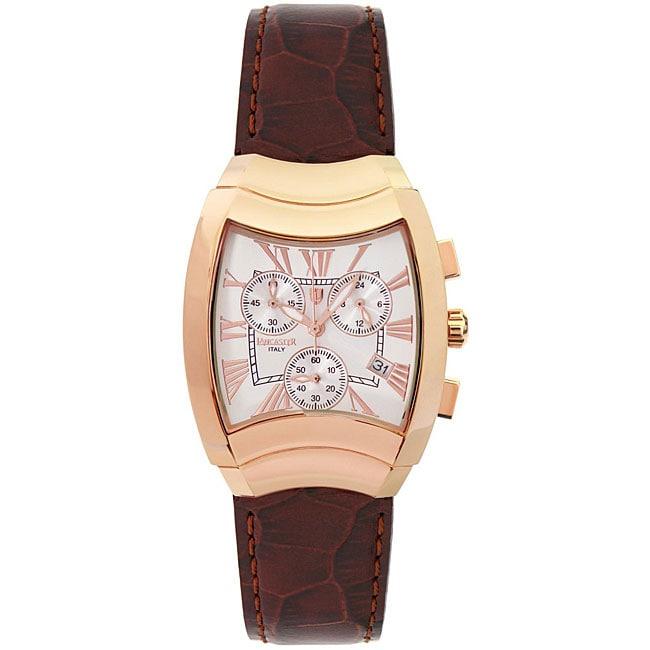 Lancaster Italy Women's Trendy Universo Chronograph Watch ...
