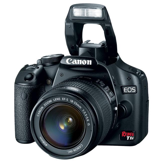 Canon EOS Rebel T1i EF-S 18-55mm IS Digital SLR Camera Kit