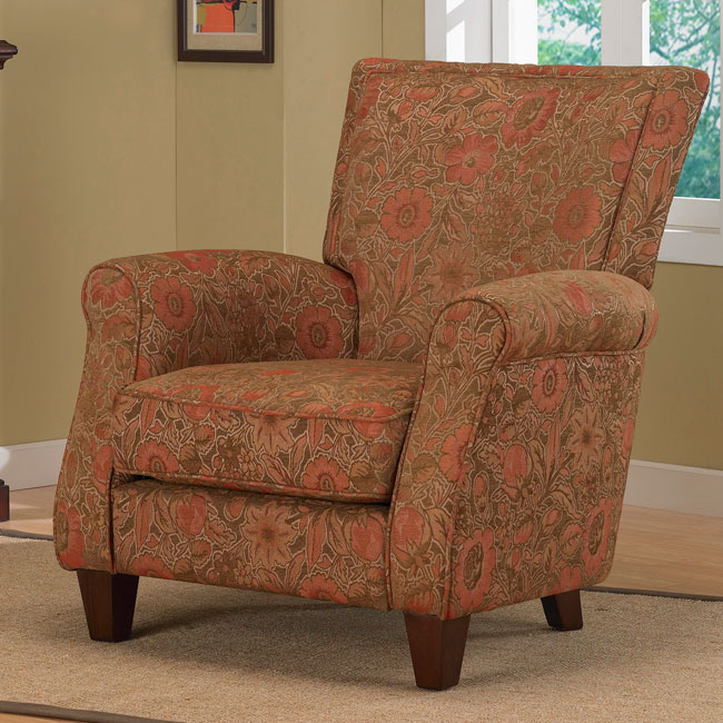 Overstock Living Room Chairs : Wingback Floral Arm Chair - Overstock™ Shopping - Great ...