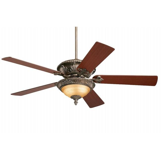 Castilla 52-inch Gilded Silver Ceiling Fan