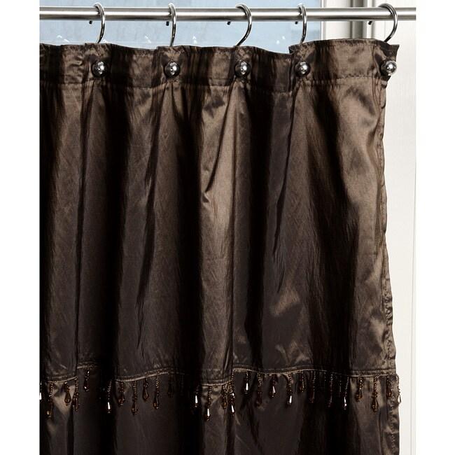 Mata Hari Copper Shower Curtain (70 in. x 72 in.) - 12331693 ...