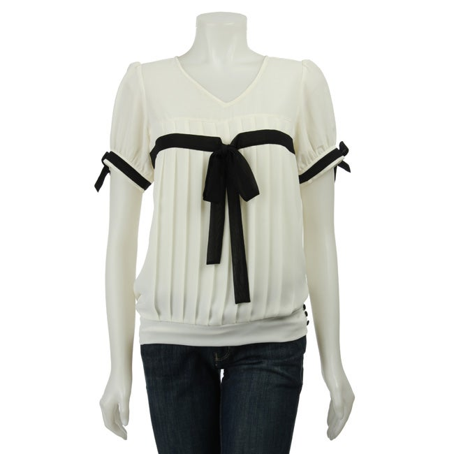 CC Couture Women's V-neck Top