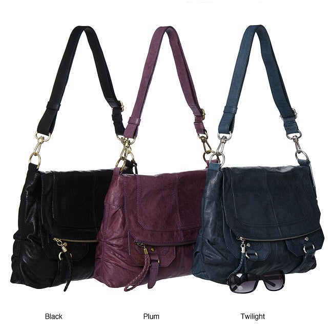 The Sak 'Silverlake' Leather Flap Bag