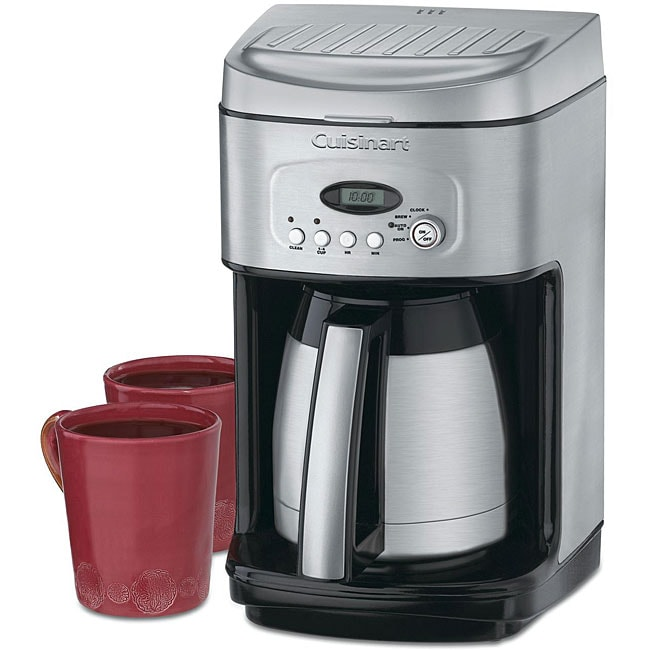 Cuisinart Coffee Maker Internal Carafe : Cuisinart DCC-2400 Brew Central 12-cup Thermal Carafe Coffee Maker (Refurbished) - 12345217 ...