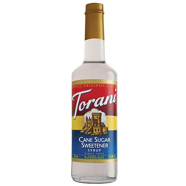 Torani Pet Sugar Cane Sweetener Syrup 750ML (Pack of 6)