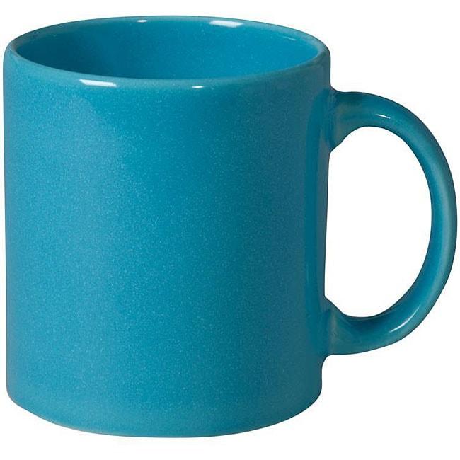 Waechtersbach Turquoise Mugs (Set of 4)