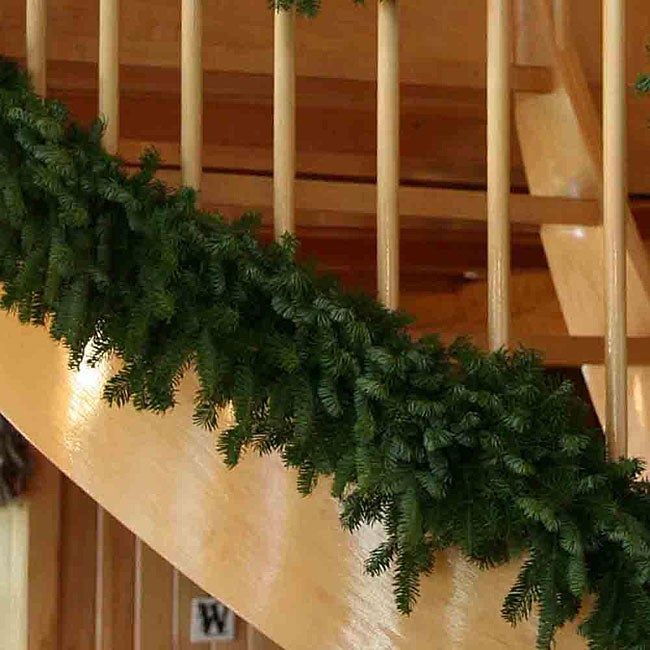 Fresh-cut Maine 18-foot Balsam Garland