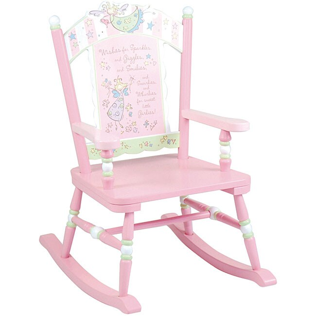 Fairy Wishes Rocking Chair Kids Furniture Toddler Chairs Home Play ...