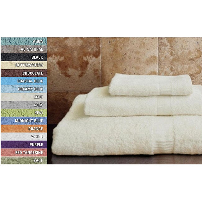 100-percent Rayon from Bamboo Bath Towels (set of 24)