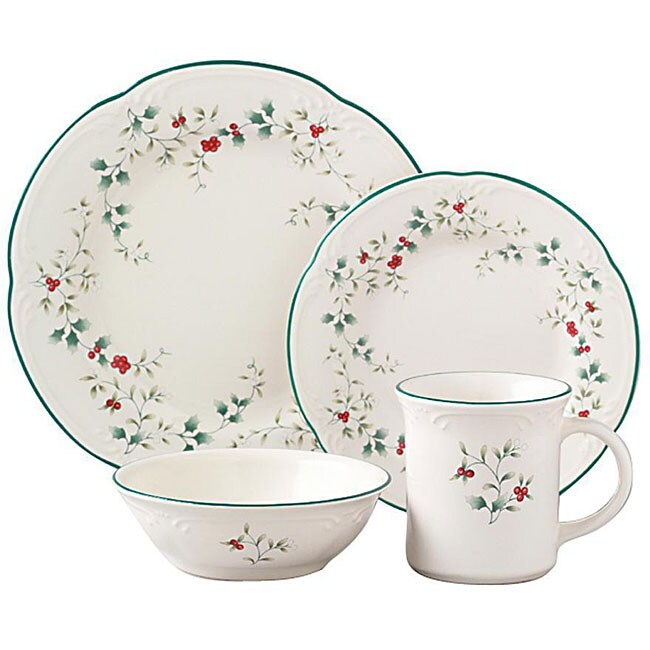 Pfaltzgraff Winterberry 16-piece Dinnerware Set (Service for 4)