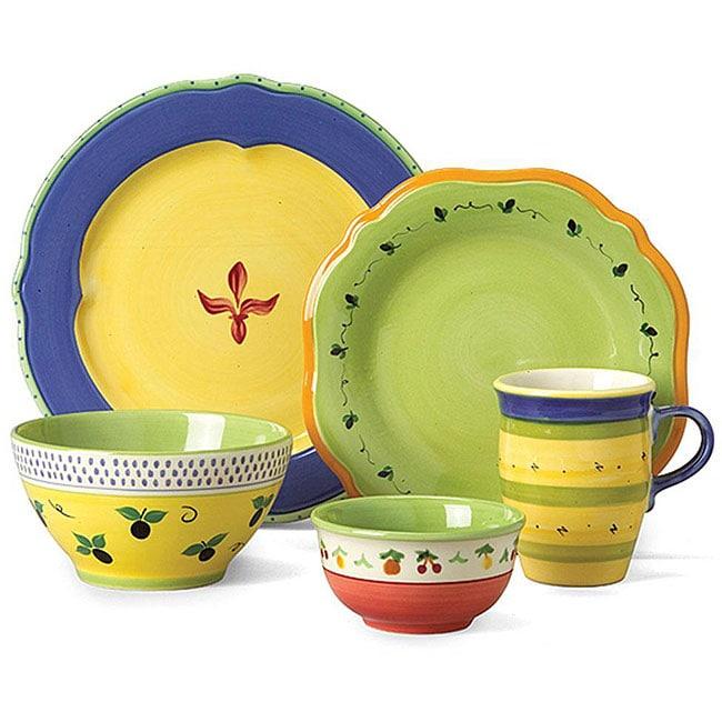 Pfaltzgraff 'Pistoulet Blue' 40-piece Dinnerware Set