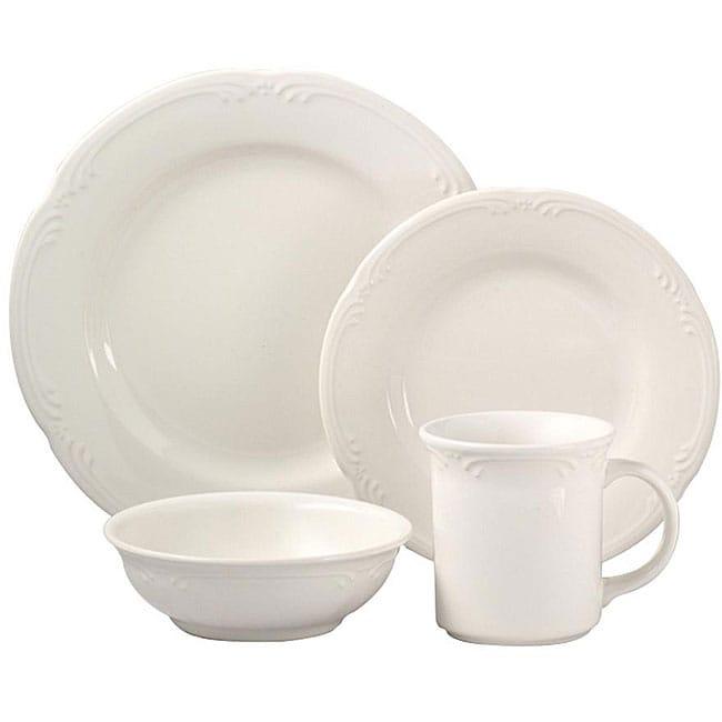 Pfaltzgraff 'Filigree' 48-piece Dinnerware Set (Service for 12)