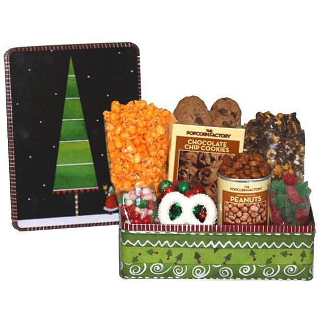 The Popcorn Factory 'Holiday Topiary' Deluxe Sampler