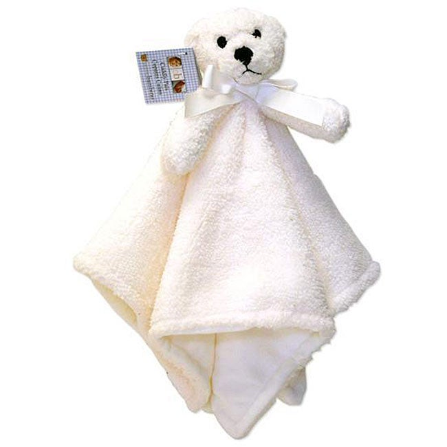 Piccolo Bambino White Bear 'Cuddly Pals' Soft Blanket