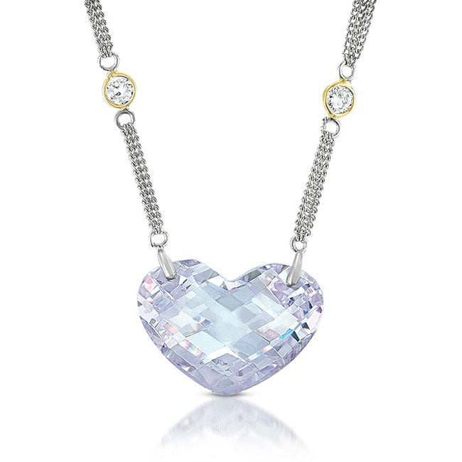 meredith leigh sterling silver shaped cubic zirconia