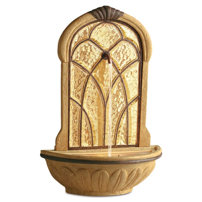 Salt Lamps Fountain Gate : Homedics EnviraScape Siena Illuminated Relaxation Fountain - 12357046 - Overstock.com Shopping ...