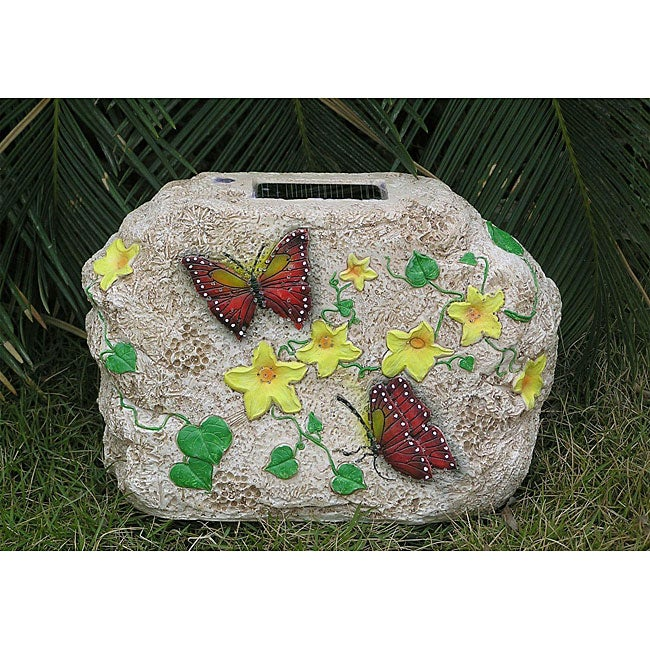 StoneOptics Butterfly Small Solar Light