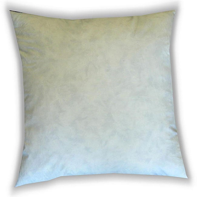 Down Decorative Pillow Forms : Feather and Down 27-inch Decorative Pillow Inserts (Pack of 4) - 12361279 - Overstock.com ...