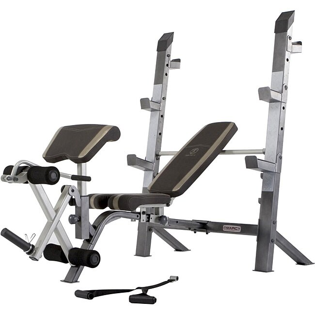 Marcy Olympic Weight Bench 12363603 Shopping Great Deals On Weights Machines