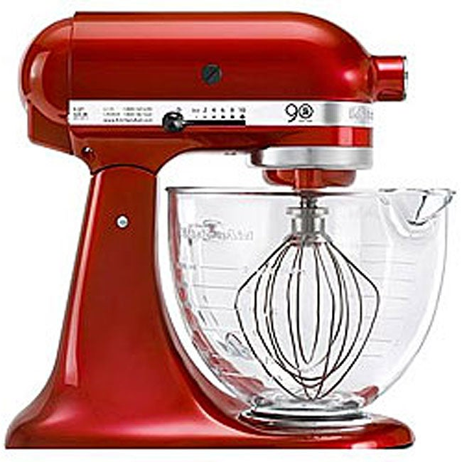 Kitchenaid 90th Anniversary Stand Mixer With Glass Bowl