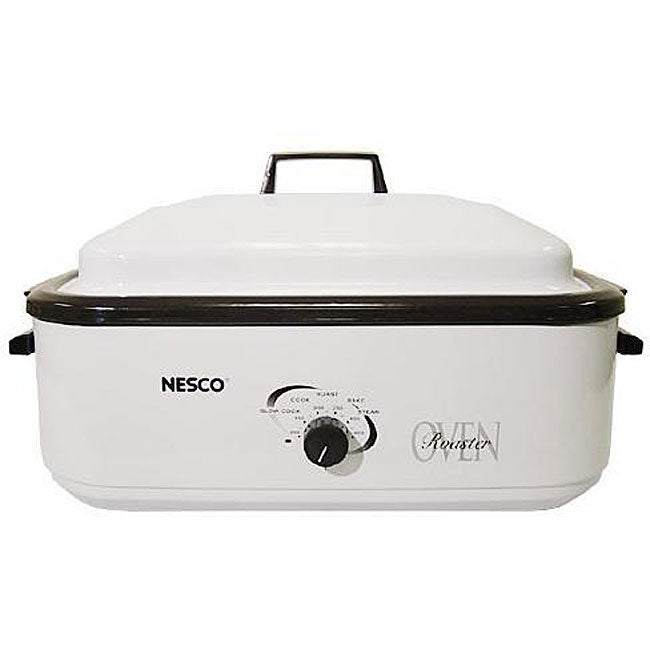Sportsman 18 Qt Roaster Oven 800654: Nesco 4808-14 Porcelain 18-quart Roaster Oven