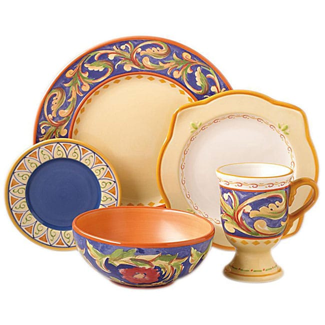 Pfaltzgraff Villa Del La Luna 40-piece Dinnerware Set