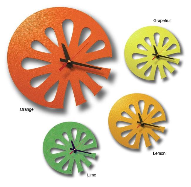 Recycled Plastic Juice Clock