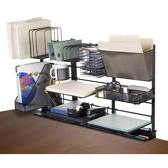 Desk saver 36 inch desk organization system 12375145 - Desk organization accessories ...