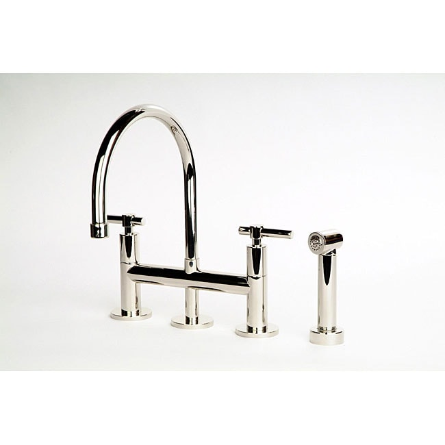 dolo bridge kitchen faucet with side spray 12375580