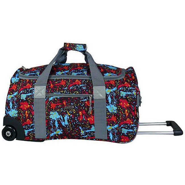 J World 'Tamarak' 22-inch Carry On Rolling Upright Duffel Bag