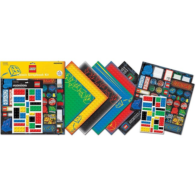 'Classic' Lego Page Kit (12 x 12)
