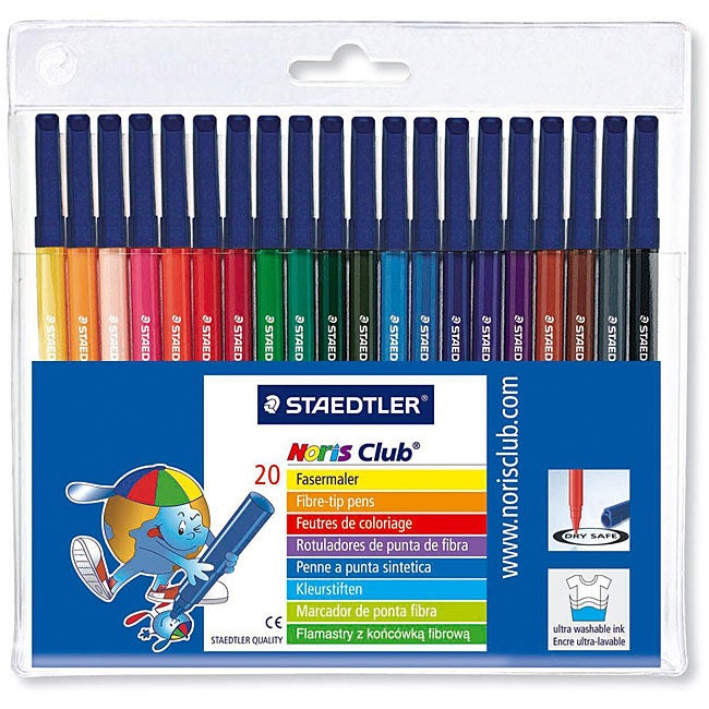 Norris Club Fine Tip Marker Set (Package of 20)