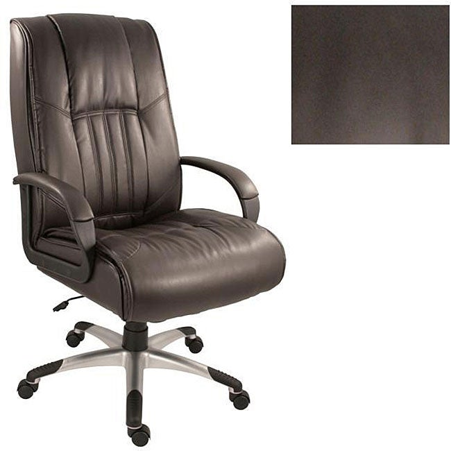Windsor Brown Leather Executive Office Chair