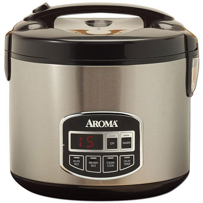 Aroma 10-cup Programmable Rice Cooker