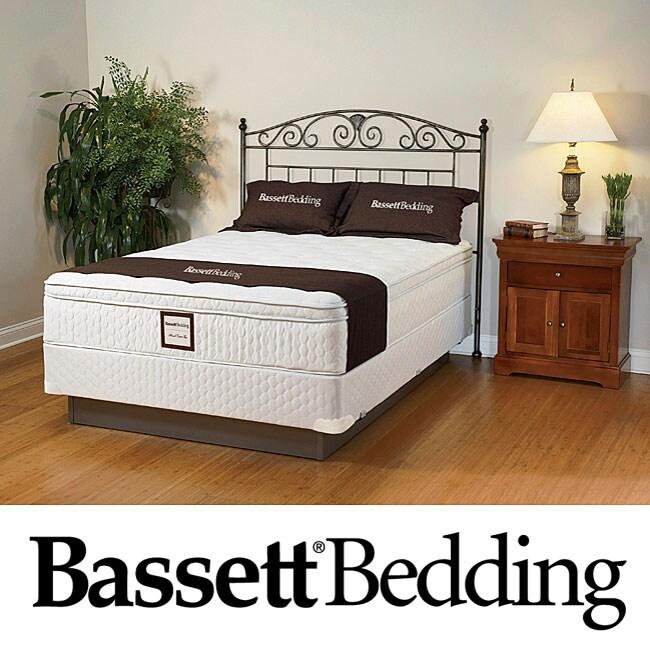 Bassett Dawnwood Euro-top Full-size Mattress Set