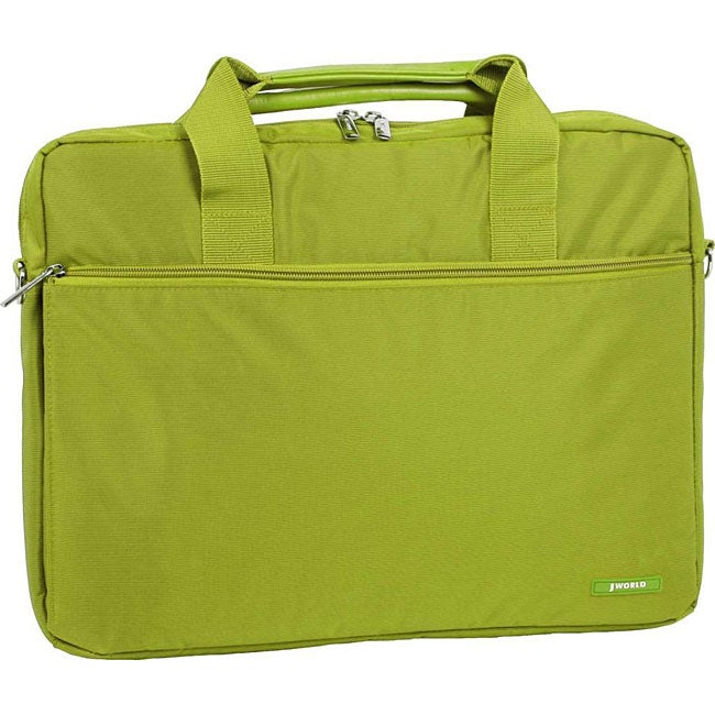Luggage by O J World Green 14-inch Laptop Briefcase at Sears.com
