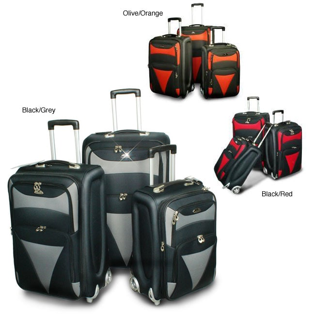 American Flyer Matrix 3-piece Luggage Set