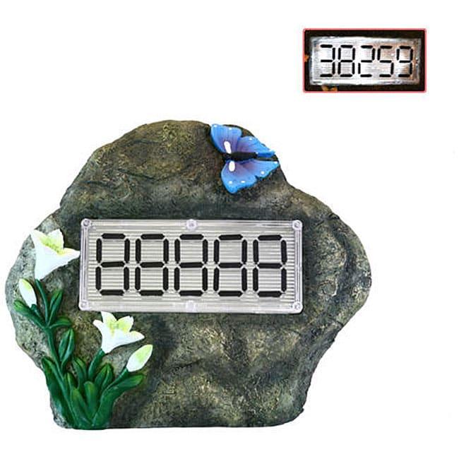 Large House Address Number Solar Rock