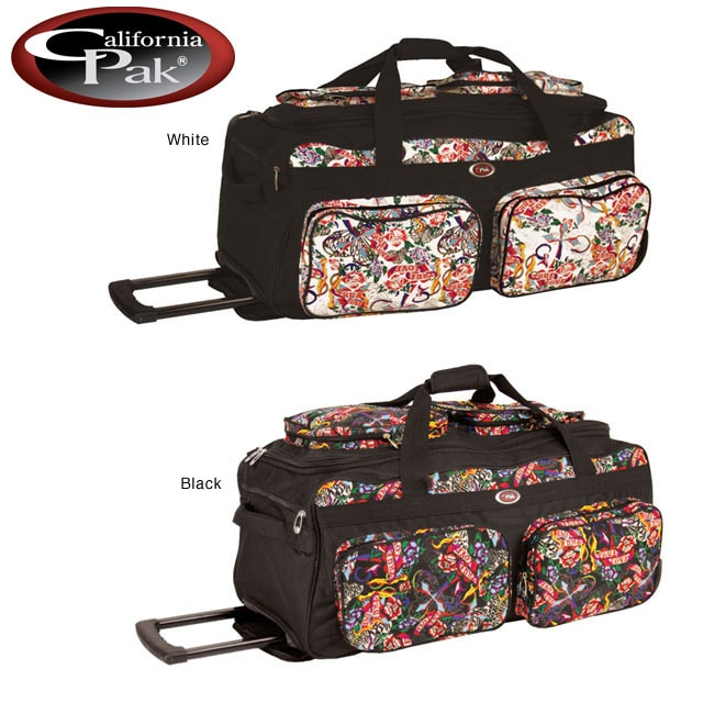 CalPak Challenger Temptation 31 Inch Rolling Duffel Bag