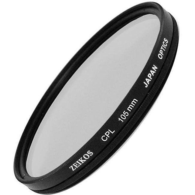 Zeikos 105mm MC Circular Polarizer Glass Filter