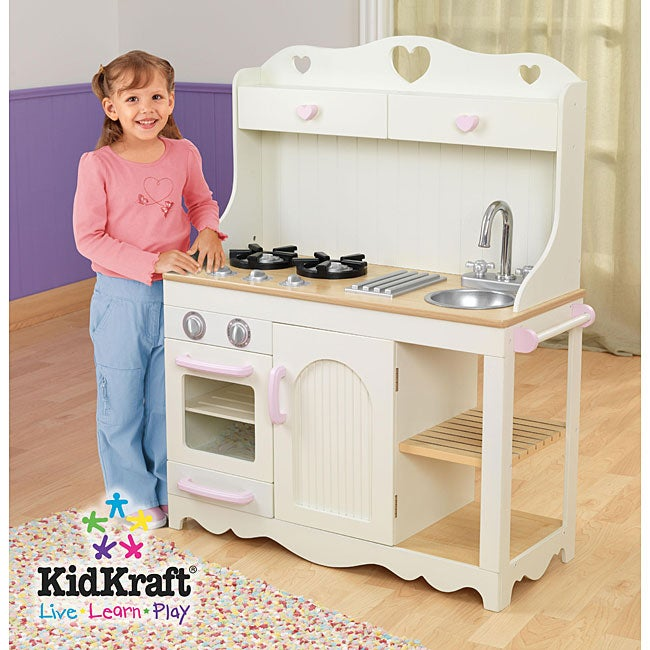 kidkraft prairie kitchen 12402260 shopping big discounts on kidkraft. Black Bedroom Furniture Sets. Home Design Ideas