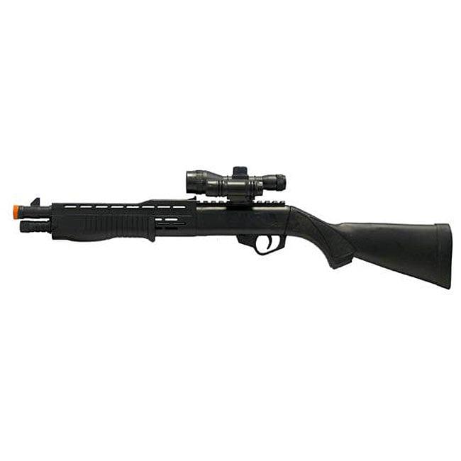 Spring Mini Tactical Shotgun Laser Airsoft Gun