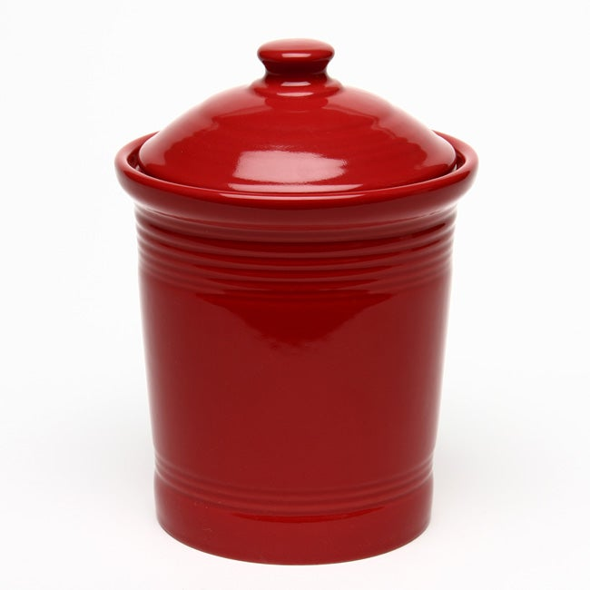 Fiesta Small Canister in Scarlet