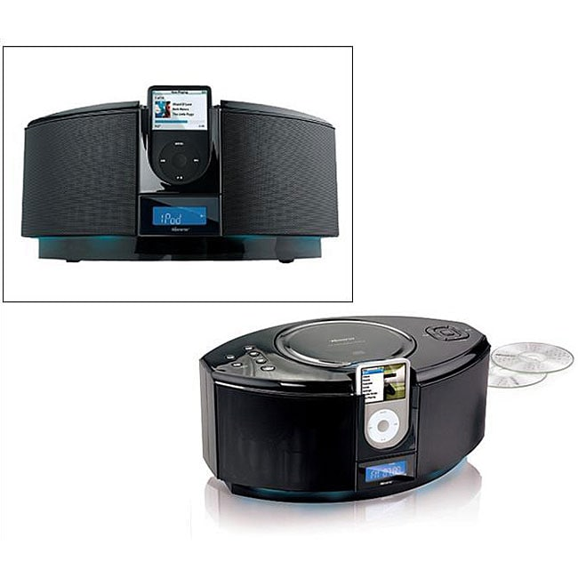 Memorex CD System IPod Dock Refurbished 12420267