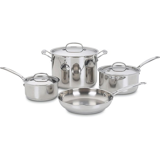 Cuisinart Chef's Classic Stainless 7-piece Cookware Set