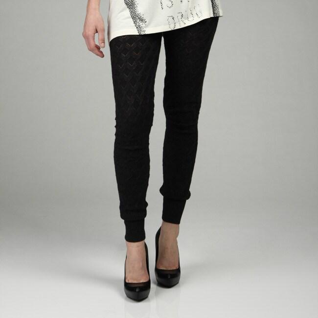 Covet Women's Sweater Knit Leggings