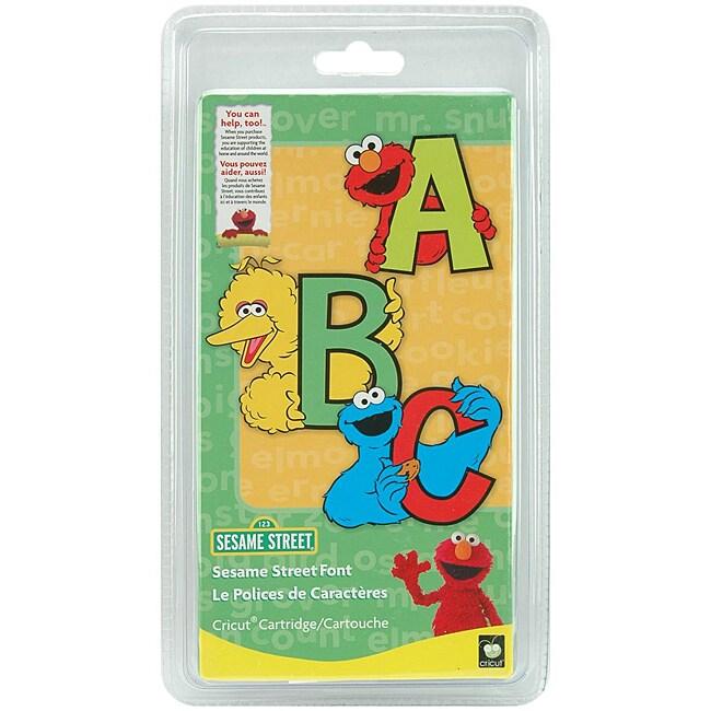 Provo Craft Cricut 'Sesame Street' Font Cartridge