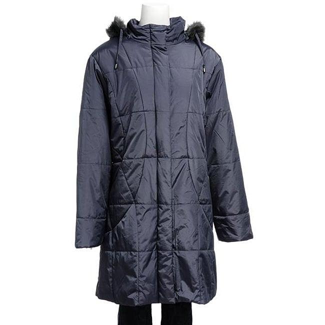 Nuage Women's Geneva Long Hooded Jacket