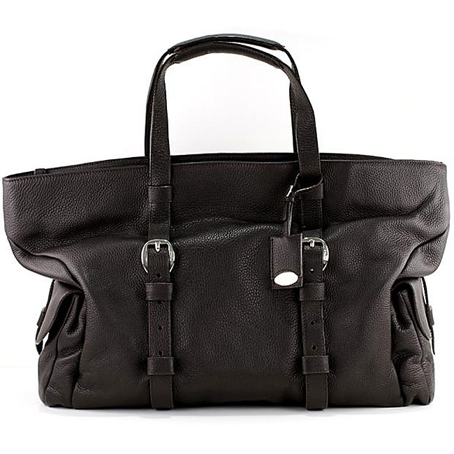 Furla Leather Travel Satchel Bag